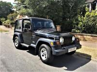 Jeep Wrangler 4.0 Sport Only 45,000 Miles From New