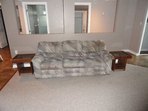 Couch and two end tables