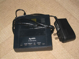 ZyXEL P-600 Series DSL modem Watch|Share |Print|Report Ad