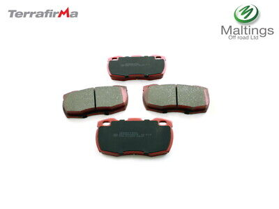 LAND ROVER DEFENDER PERFORMANCE FRONT BRAKE PADS TERRAFIRMA PADS SFP000260TF