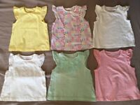 3-6 Months baby girl summer clothes bundle