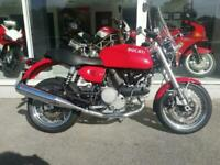 DUCATI GT 1000, TWO OWNERS AND ONLY 1200 MILES FROM NEW, ABSOLUTELY PRISTINE!