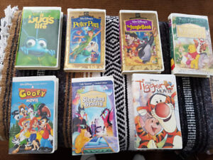 Disney collector VHS movies