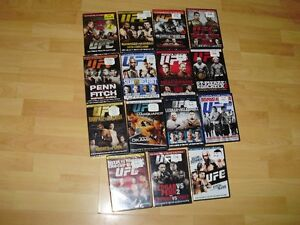 """15 UFC dvds ***BRAND NEW*** trade for 17"""" Rims and Tires London Ontario image 1"""