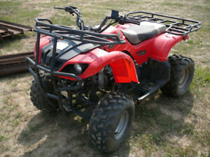 GOING TO AUCTION: Wilderness Trail 90 ATV