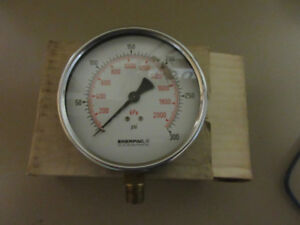 mechanical pressure guage by Enerpac