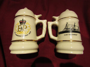 1959 St Lawrence Seaway Commemorative SALT & PEPPER Shakers Kitchener / Waterloo Kitchener Area image 4
