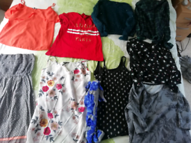 Size 12 to 14 women's clothes bundle