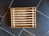 Wooden bread cutting board