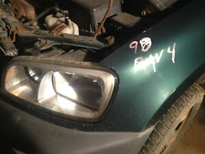 Parting out 98 Rav4 soft top (green)