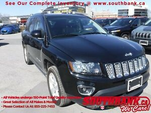 2016 Jeep Compass High Altitude2.4 L 4 Cylinder, 6 Spd Automatic