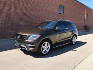 2013 Mercedes-Benz M-Class ML 350 BlueTEC SUV, Crossover