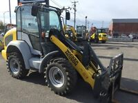 Chargeur sur roue Wacker Neuson 550 / Four wheel steer