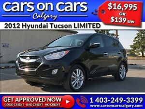 2012 Hyundai Tucson LIMITED w/Leather, PanoRoof, Navi $139 B/W I