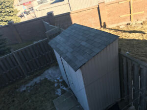 Storage Shed with door amazing condition easy installation