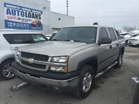 CHEVY AVALANCHE Z71 4X4 - SUNROOF AND LEATHER
