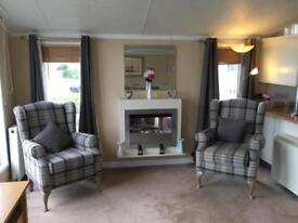 Stunning pre owned lodge for sale in Hunstanton Norfolk - INCLUDES DECKING