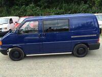 VW T4 Transporter SWB Campervan 2.4 Blue. Recent full conversion. Used once.