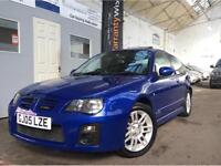 """MG ZR 1.4 105 Trophy 3dr LOW MILEAGE + LEATHER + 16"""" ALLOYS"""