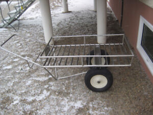 Stainless steel all purpose Wash Cart