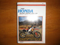 1992-1996 Honda CR125R and CR250R Service Repair Manual