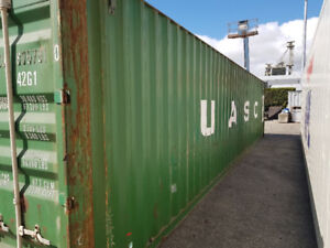 40' Standard Used Shipping Container (PG)