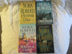 Nora Roberts and Danielle Steel For Sale