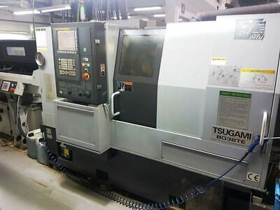 38mm Tsugami B038te 9-axis Precision Cnc Turning Center Lathe New 2016