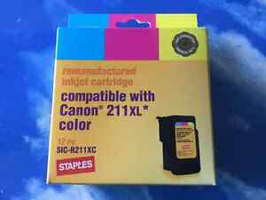 Inkjet cartridge  -- Canon 211xl colour