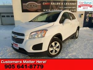 2016 Chevrolet Trax LT  AWD, CAMERA, REMOTE START, ALLOYS