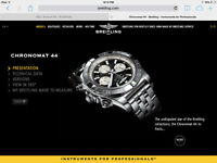 AWESOME DEAL - BREITLING CHRONOMAT 44 GMT