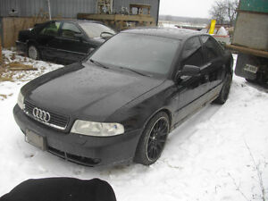 Parting out 2000 Audi a4