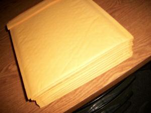 21 New Padded Envelopes