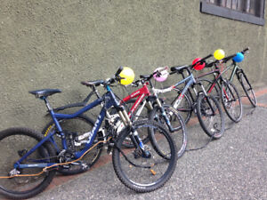 Bikes & Mountain Bikes for sale $100+up