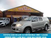 4X4 VAN 3.0 INVINCIBLE 4X4 D-4D DCB 171 BHP MANUAL