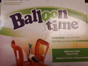 NEW Balloon Time Helium Tanks. On Sale Only $20.00