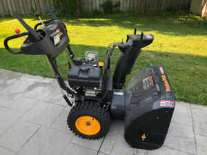 "27"" Poulan PRO Snowblower with 8.5HP TECUMSEH Engine"