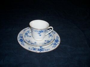 Blue Flower  China Dishes For  Sale
