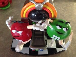 M&M Rock and roll cafe dispenser
