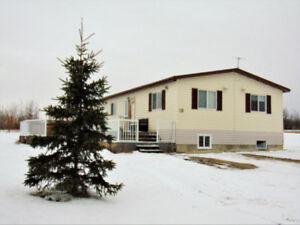 Affordable Acreage close to Grande Prairie