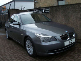 07 57 BMW 525i 3.0 V6 SPORT SE 4DR PAN ROOF BLUETOOTH FSH ALLOYS CRUISE CLIMATE