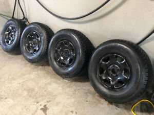 4 GT Radial Winter Tires on Rims - 235/70R16 - ALMOST NEW
