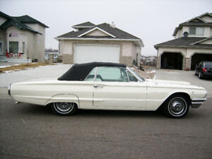 Mid 60s Tbir convertible muscle car California car owned 15 year