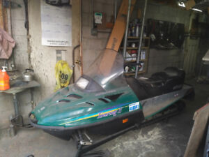 2 sleds and trailer $3500.0