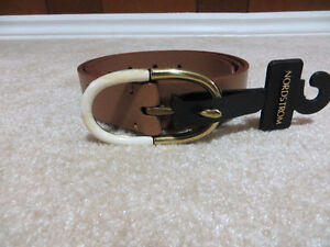 BRAND NEW LEATHER FOSSIL BELT ***PRICE DROP***