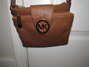 Authentic Mk Fulton Crossbody Bag Like New With Dustbag 80
