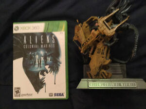 Aliens Colonial Marines avec statuette de collection. Xbox 360