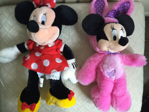 Mini Mouse Disney Collection Doll 2 Wallet Lot Girls Plush Store