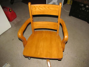 Office Chair - Solid Maple