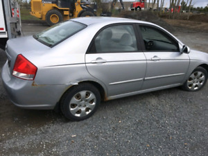 2007 Kia Spectra lx for parts or fixing